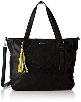 Little Marcel Women's ID22-LM-BLACK Shoulder Bag Black