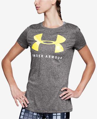 Under Armour Ua Tech Logo Printed T-Shirt