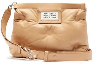 Maison Margiela Glam Slam Quilted Leather Cross Body Bag - Womens - Nude