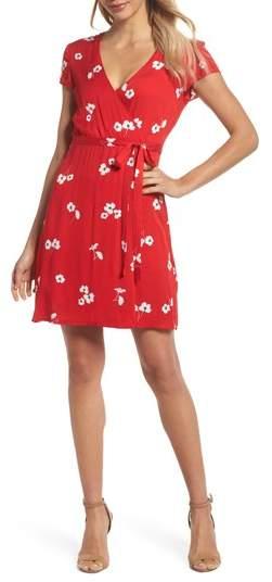 Edie Floral Faux Wrap Dress