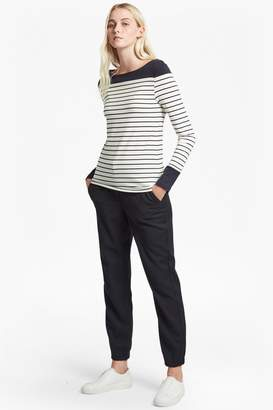 French Connection Tim Tim Slash Neck Long Sleeved Sweater