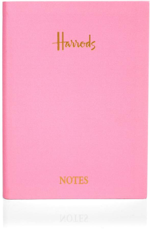 Embossed A5 Notebook, Pink