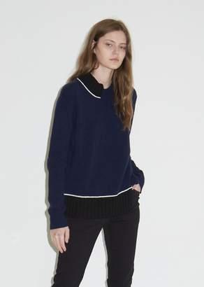Marni Contrast Turtleneck Sweater
