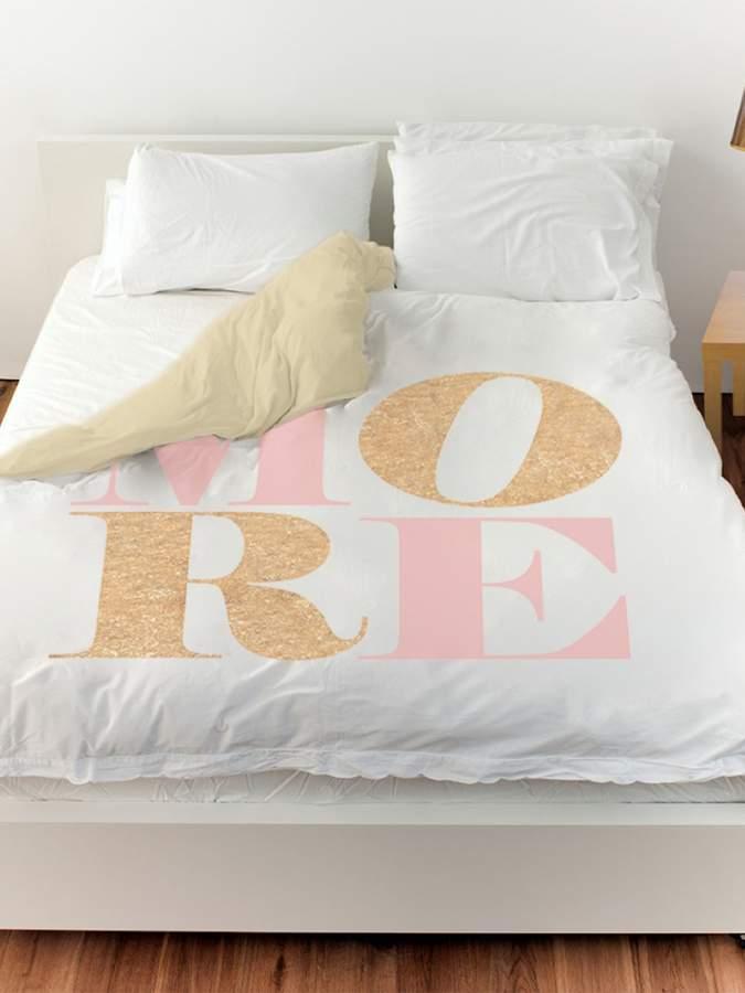 Love More Romance Duvet Cover