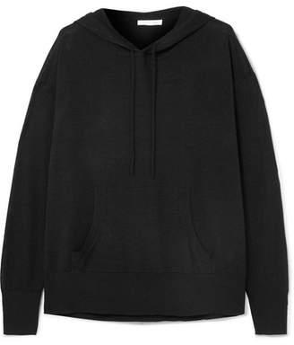 Skin - Malika Wool-blend Hoodie - Black