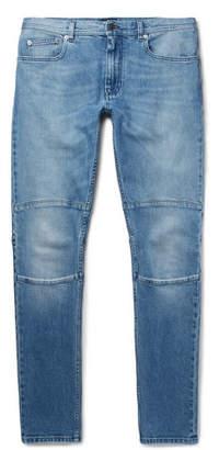 Belstaff Tattenhall Skinny-Fit Panelled Stretch-Denim Jeans