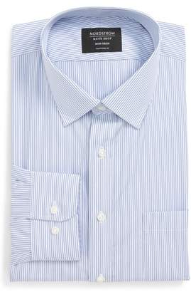 Nordstrom Traditional Fit Non-Iron Stripe Dress Shirt