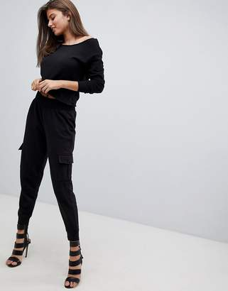 Missguided Cargo Joggers