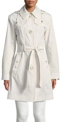 Gallery Hooded Trench Coat