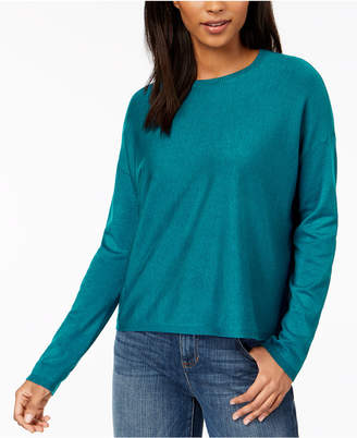 Eileen Fisher Tencel Crew-Neck Sweater