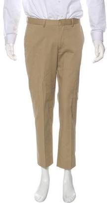 Barneys New York Barney's New York Woven Striped Dress Pants