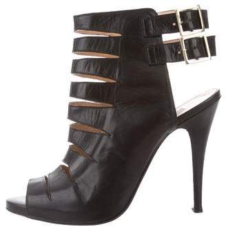 Bionda Castana Cutout Buckle Booties