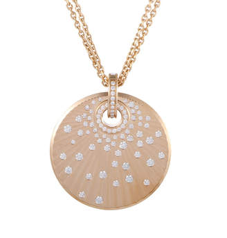 Chopard 18K Rose Gold 0.76 Ct. Tw. Diamond Necklace