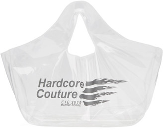 Marine Serre Transparent Hardcore Couture Tote