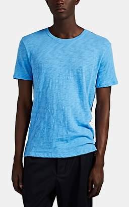 ATM Anthony Thomas Melillo Men's Slub Cotton T-Shirt - Blue