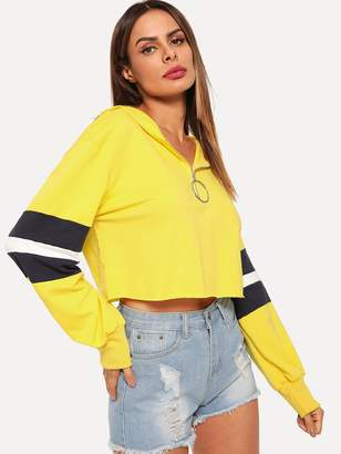 16a5ca0f88 Shein Yellow Women's Sweatshirts - ShopStyle
