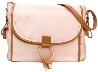 Chloé Kids satin satchel bag