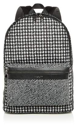 Michael Kors Kent Mixed Houndstooth Print Backpack