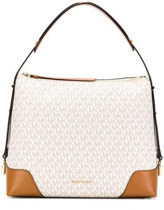 MICHAEL Michael Kors Crosby leather trim tote