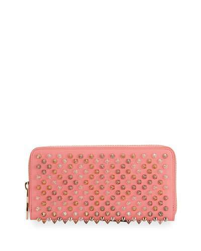 Christian Louboutin  Christian Louboutin Panettone Spiked Zip Wallet