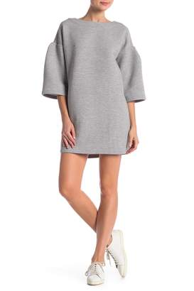 French Connection Marian Ottoman Bell Sleeve Dress