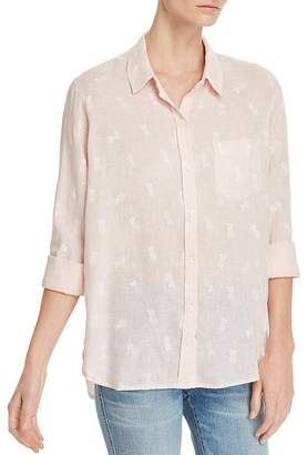 Rails Charli Pineapple Print Shirt