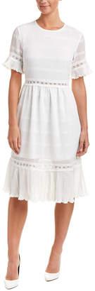 Endless Rose Pleated Midi Dress