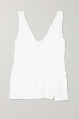 Bassike + Net Sustain Organic Cotton-jersey Tank - White