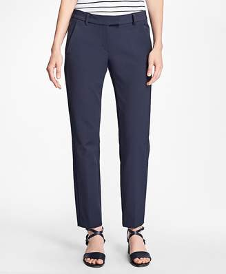 Stretch Cotton Pants $78 thestylecure.com
