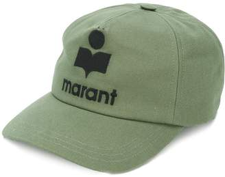 Isabel Marant embroidered logo baseball cap
