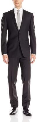 DKNY Men's Driver 2 Button Side Vent Modern Fit 2 Piece Suit