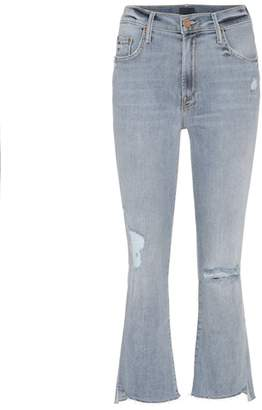 Mother Insider cropped flared jeans