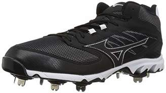 Mizuno Men's 9-Spike Dominant IC Mid Metal Baseball Cleat Shoe
