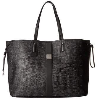 MCM Reversible Liz Large Shopper in Visetos Handbags