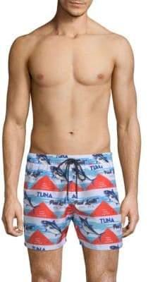 Paul Smith Tuna-Print Swim Shorts