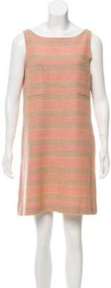 Chanel Striped Tweed Dress