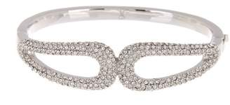 Vince Camuto Mirrored Button Hinge Bangle