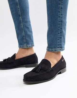 Ben Sherman Loafers Tassel Loafers In Navy Suede