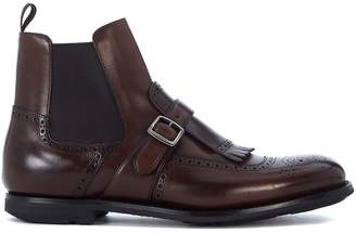 Church's Shanghai Brown Leather Ankle Boots
