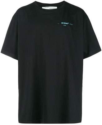 Off-White oversized crew neck T-shirt