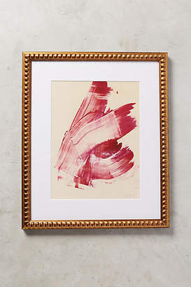 Artfully Walls Hot Pink Abstract Wall Art