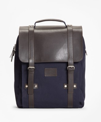 Brooks Brothers Canvas Backpack