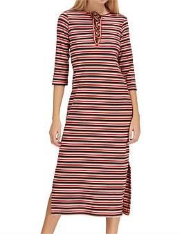 The Fifth Label Parade Stripe Midi Dress