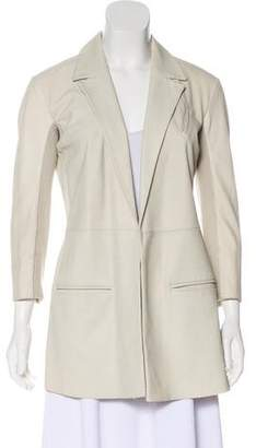 Veda Lightweight Leather Blazer