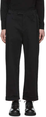 Craig Green Black Uniform Trousers