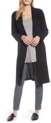Eileen Fisher Long Silk Jacket