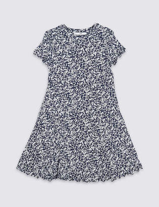 Marks and Spencer All Over Ditsy Print Dress (3-16 Years)