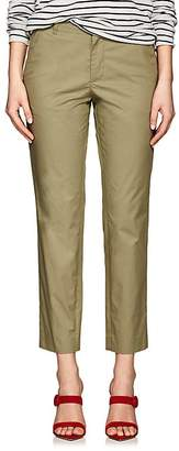 VIS A VIS Women's Uniform Cotton Poplin Crop Pants