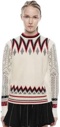Diesel Black Gold Diesel Sweaters BGKJP - White - L