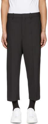 Neil Barrett Black Tapered Trousers